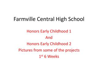 Farmville Central High School