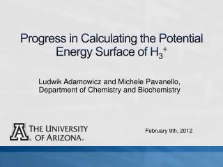 Progress in Calculating the Potential Energy Surface of H 3 +