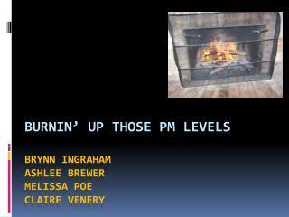 Burnin' Up Those PM Levels Brynn Ingraham Ashlee Brewer Melissa Poe Claire Venery
