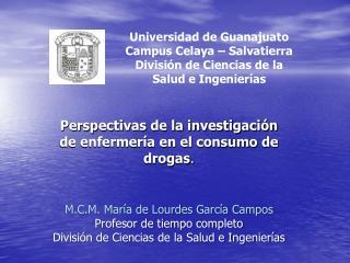Universidad de Guanajuato Campus Celaya   Salvatierra Divisi n de Ciencias de la Salud e Ingenier as