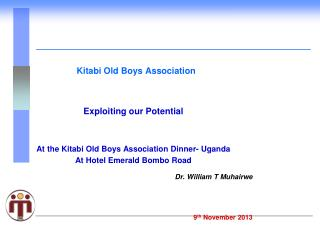 Kitabi Old Boys Association