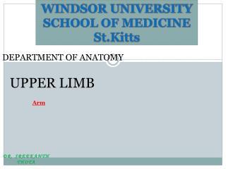 WINDSOR UNIVERSITY SCHOOL OF MEDICINE St.Kitts
