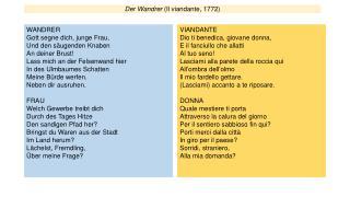 Der Wandrer (Il viandante, 1772)