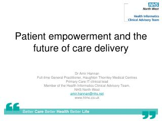 Patient empowerment and the future of care delivery