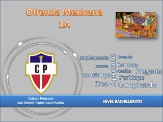 Ofrenda Mexicana 1A