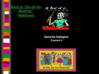 """Back to """"Día de los Muertos"""" WebQuest"""
