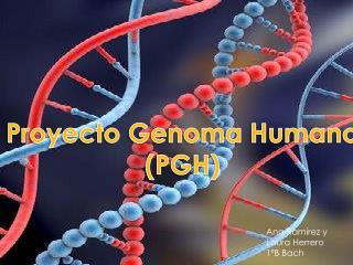 Proyecto Genoma Humano (PGH)
