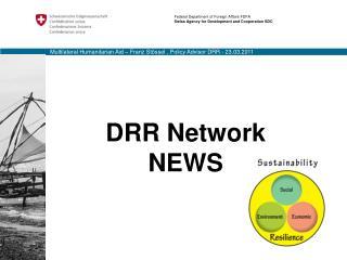 DRR Network NEWS