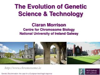 The Evolution of Genetic Science & Technology