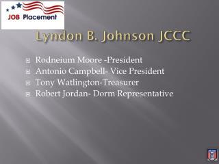 Lyndon B. Johnson JCCC