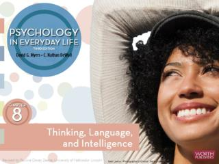 Thinking, Language , and  Intelligence Thinking Language Intelligence