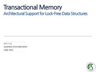 Transactional Memory   Architectural Support for Lock-Free Data Structures