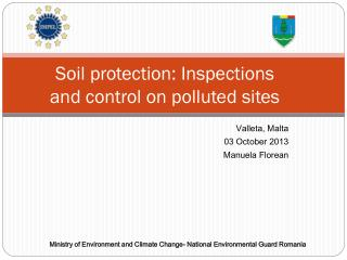 Soil protection: Inspections and control on polluted sites
