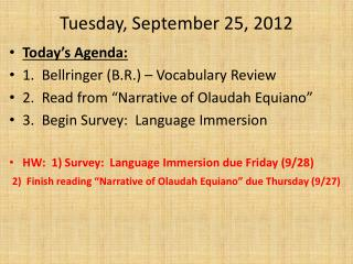 Tuesday, September 25, 2012