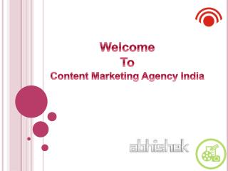 Unique Content Marketing Services in India