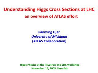 Understanding Higgs Cross Sections at LHC