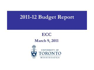 2011-12 Budget Report