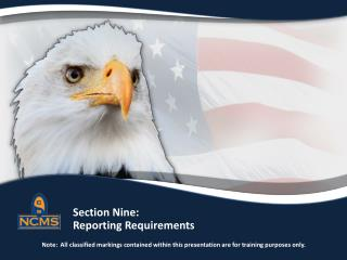 Reporting Requirements  Individual Responsibilities