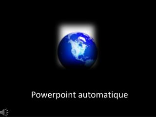 Powerpoint automatique