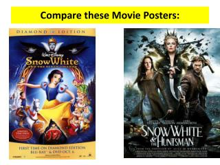 Compare these Movie Posters: