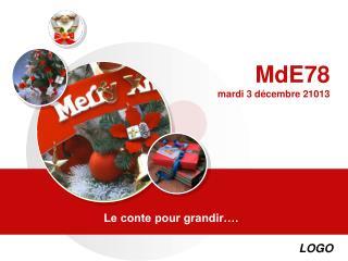 MdE78 mardi 3 d�cembre 21013
