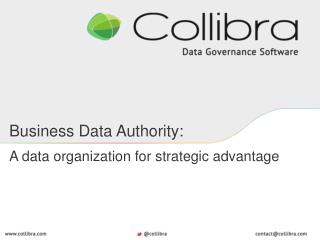 Business Data  Authority: