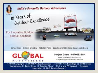 Innovative Outdoor Advertising agency - Global Advertisers