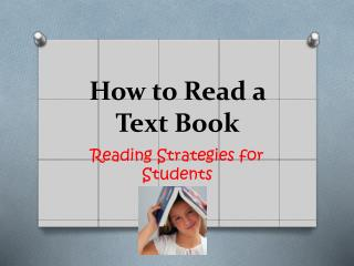 How to Read a Text Book
