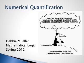 Numerical Quantification