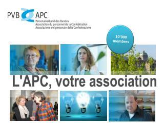 L'APC, votre association