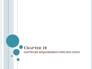SOFTWARE REQUIREMENT SPECIFICATION SRS