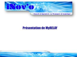Pr�sentation de MyRELAY