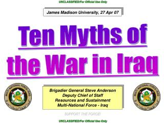 10 Myths of Operation Iraqi Freedom