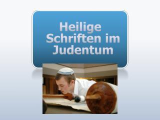 Heilige Schriften im Judentum