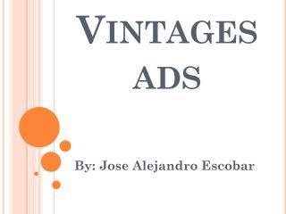 Vintages ads