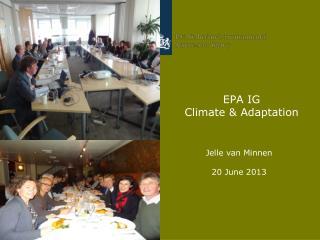 EPA IG  Climate & Adaptation