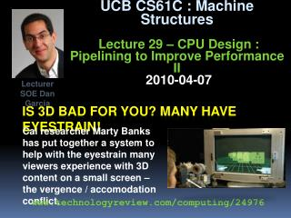Is 3d bad for you? Many have eyestrain!