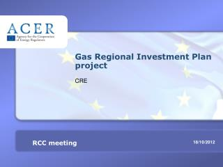 Gas Regional Investment Plan project