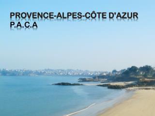 Provence-Alpes-Côte d'Azur P.A.C.A