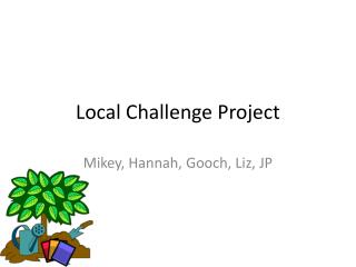Local Challenge Project