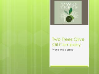Two Trees Olive Oil Company