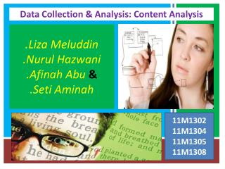Data Collection & Analysis: Content Analysis