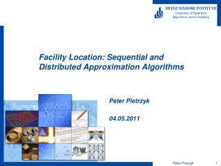 Facility Location: Sequential and  Distributed Approximation  Algorithms