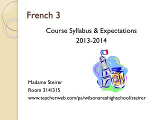 French 3