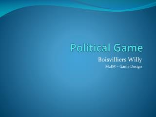 Political Game