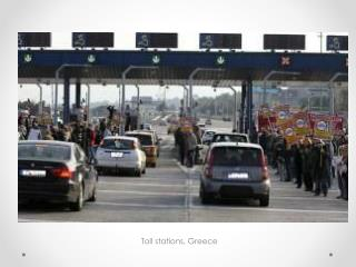 Toll stations, Greece