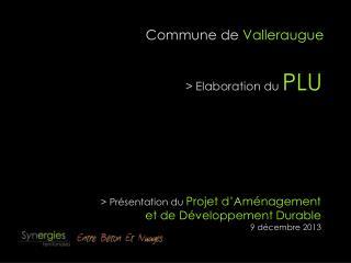 Commune de  Valleraugue