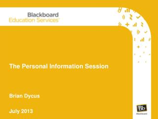 The Personal Information Session