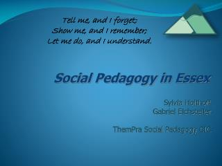Social Pedagogy in Essex