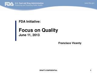 FDA Initiative: